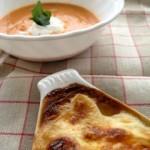 シンサナミ フランス料理教室 グラタンとスープ