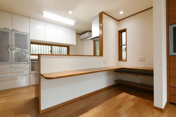 リフォーム アフター キッチン 横浜