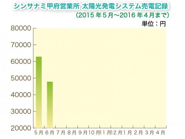 太陽光 売電 グラフ