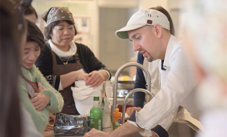 フランス料理教室講師 ニコラ・モロー先生